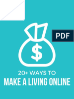 20 Ways to Make a Living Online