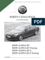 AlpinaB5 Parts