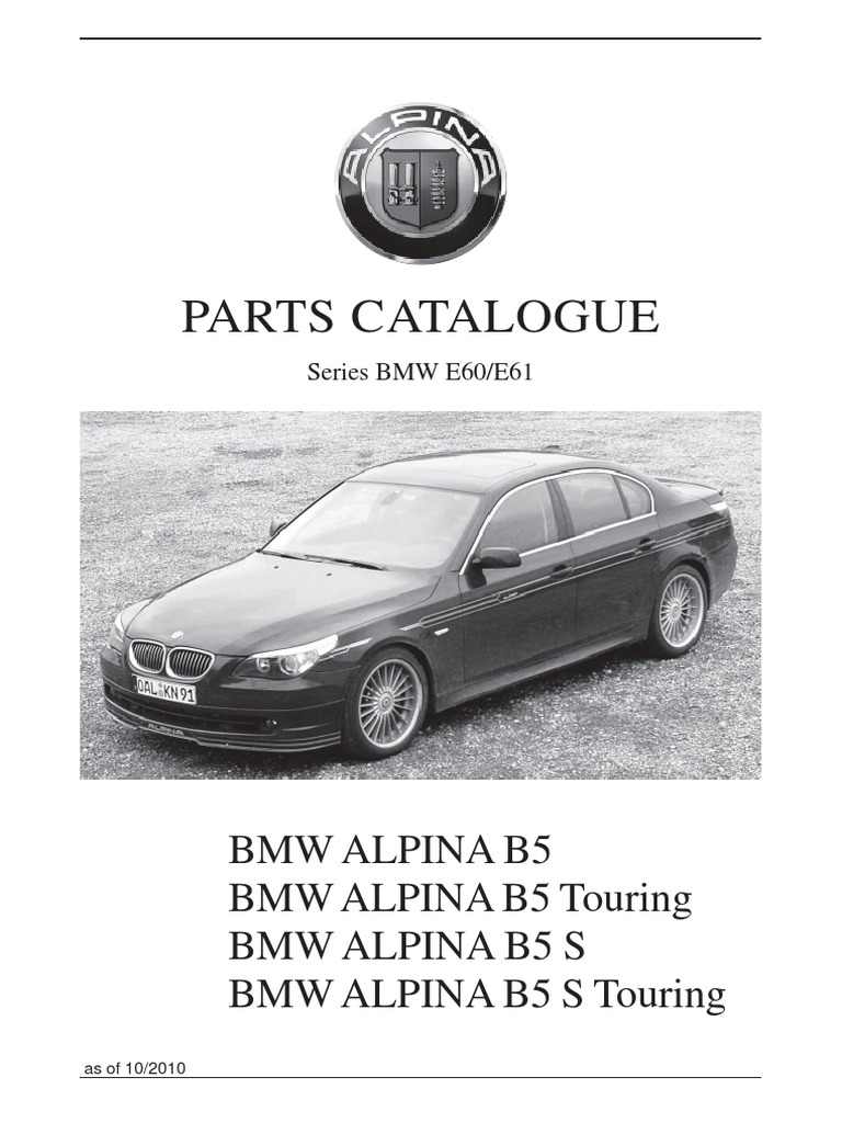 AlpinaB Parts Belt Mechanical Turbocharger - Alpina bmw parts