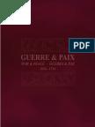 Savall. Guerra y paz. Booklet