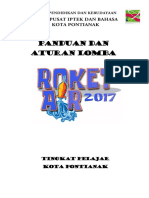 Peraturan Lomba Roket Air 2017 Booklet