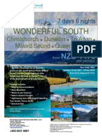 NZ - Wonderful South