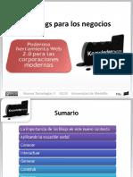 Los Blogs para los negocios