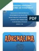 Plan Nacional de Salud / HONDURAS