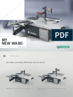 Altendorf WA 80 Brochure English