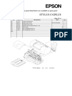 stylus C42+ parts list and diagram