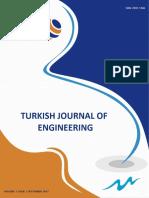 TURKISH JOURNAL OF ENGINEERING  Volume 1 Issue 2