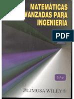 Matemáticas Avanzadas para Ingenieria Kreyszig Vol I 3a edición.pdf