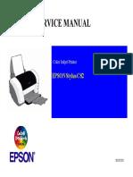 Stylus C82 Service Manual