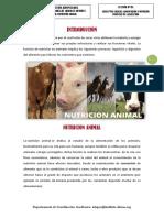 Nutrición y Alimentación Animal - Leccion 1