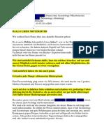 E-Mail Liebe Mitstreiter