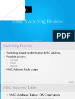 1 Basic Switching Review