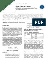 Coral.d,Madroñero.d,Ramirez.g. Informe de Gavimetria de Sulfatos