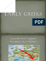 Chapter 5 Early Greeks