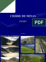 CIERRE DE MINAS  PATMIN XVI