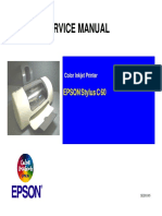 Stylus C60 Service Manual
