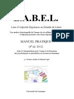 Manuel Label 2012