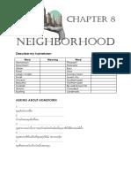Chapter 7 Neighborhood