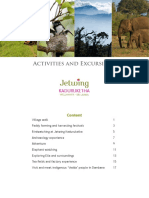 Jetwing Kaduruketha Excursions and Experiences