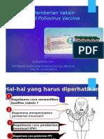 4. Tatacara Pemberian IPV