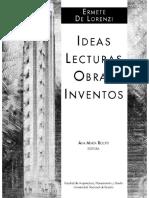 Arq, Ermete de Lorenzi_Ideas, Lecturas, Obras, Inventos