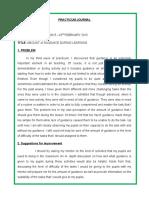 Practicum Journal Week 3
