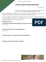 Pilha de Daniell (Pilha Eletroquímica) - InfoEscola
