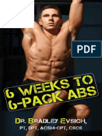 6 Weeks to 6-Pack Abs - Dr. Bradley Evsich