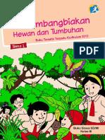 Kelas 03 SD Tematik 1 Perkembangbiakan Hewan Dan Tumbuhan Siswa