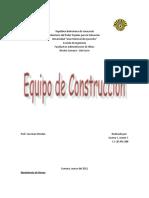 Equipo de Construccion