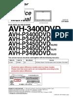 Pioneer Avh p3450dvd