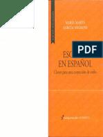 Escribir en Español Claves Para Una Corrección de Estilo