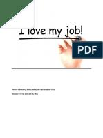 i Love my Job