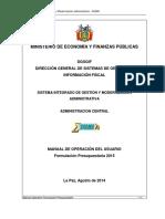 Manual Sigma 2015