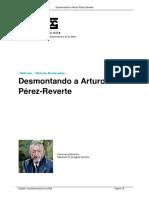 Desmontando a Arturo Perez Reverte