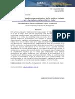 Yolanda Guerra - Análisis de Las Contradicciones Constitutivas de Las Políticas Sociales en Brasil - El Paradigma de La Asistencia Social