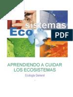 Aprendiendo a Cuidar Los Ecosistemas