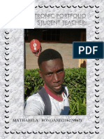 Electronic Portfolio of Mr b Mathabela