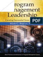 CRC Press - Program Management Leadership