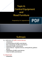 Chapter 6_Traffic Control Equipment and Road Furniture (1)