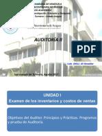 Auditoria II - Unidad i - Inventarios