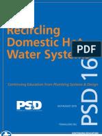 20100708-PSD CEU 169-Hot Water Re Circulation