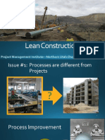 Lean Construction Projects Pmi May 2015 2015-05-13 Handout