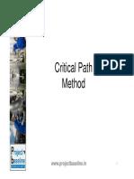 Critical Path Method.pdf