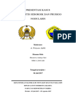 Laporan Kasus Dermatitis Seboroik dan Prurigo Nodularis