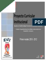 Pci Modelo Ecologico Funcional 2010 2012