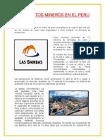 Yacimientos Mineros en El Peru 1