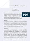 Socio-Enviromental Conflict in Argentina