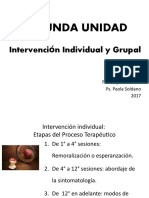 Psicoterapia Grupal e Individual - Clase