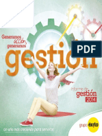 Informe de Gestion Anual Xito 2014